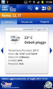 Class Meteo - Weather Channel - screenshot thumbnail
