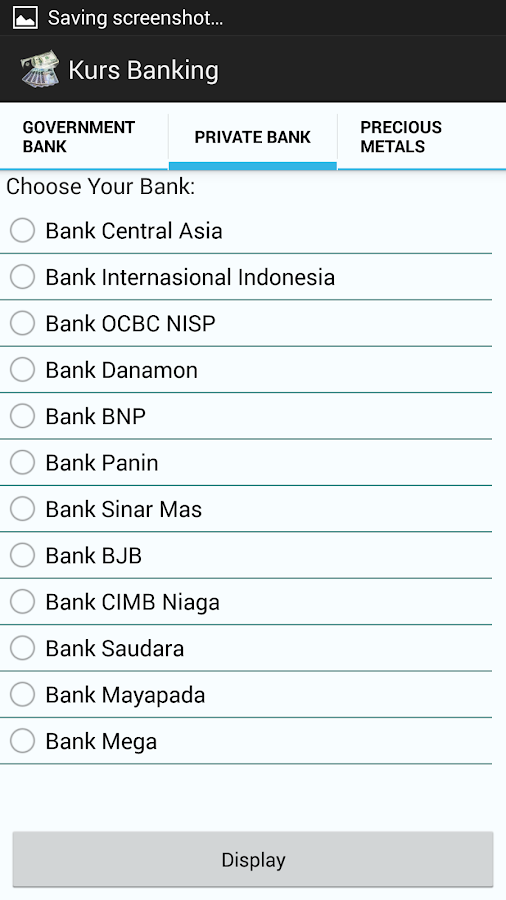 Exchange Indonesian Banking- screenshot