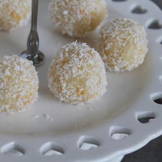 Lemon Coconut Truffles.