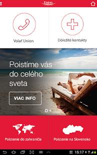 Union mobilné SMS poistenie- screenshot thumbnail