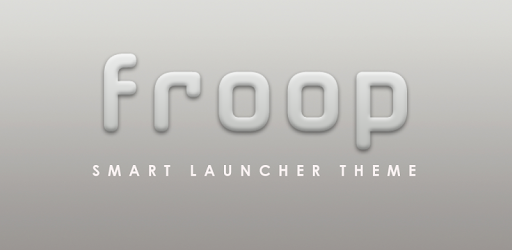 This app contains only the Smart Launcher Theme FROOP