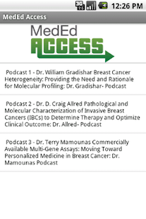 MedEd Access - screenshot thumbnail