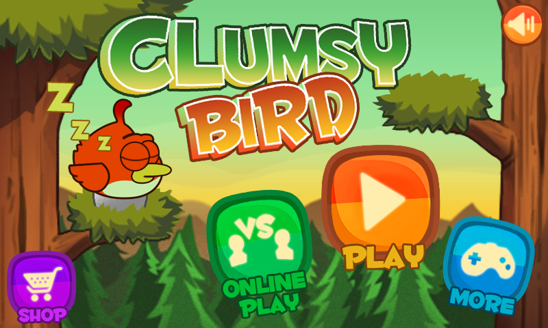 Clumsy Bird - screenshot