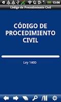 Screenshot of Colombia Civil Procedure Code