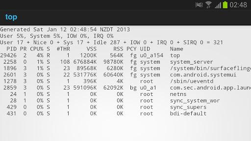 linux top cpu