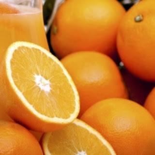 Es Jeruk Kelap (sinaasappel – Kokos).