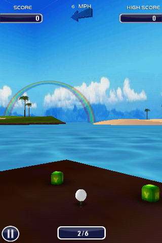 Golf 3D- screenshot