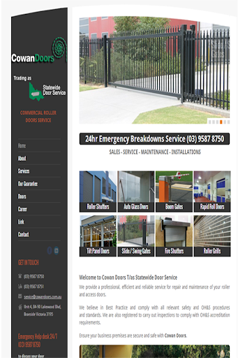 Cowan Doors Launch App