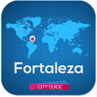 Fortaleza Map Hotels & Guide icon