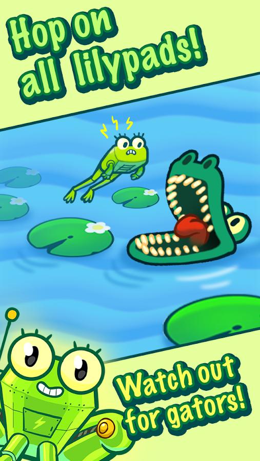 Puzzles & Robofrog - screenshot