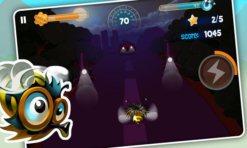 Bumblebee Race Free- screenshot