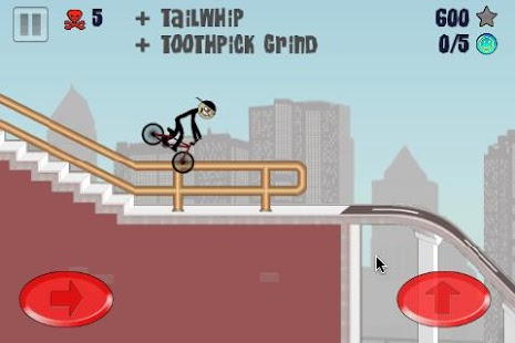 Stickman BMX - screenshot thumbnail