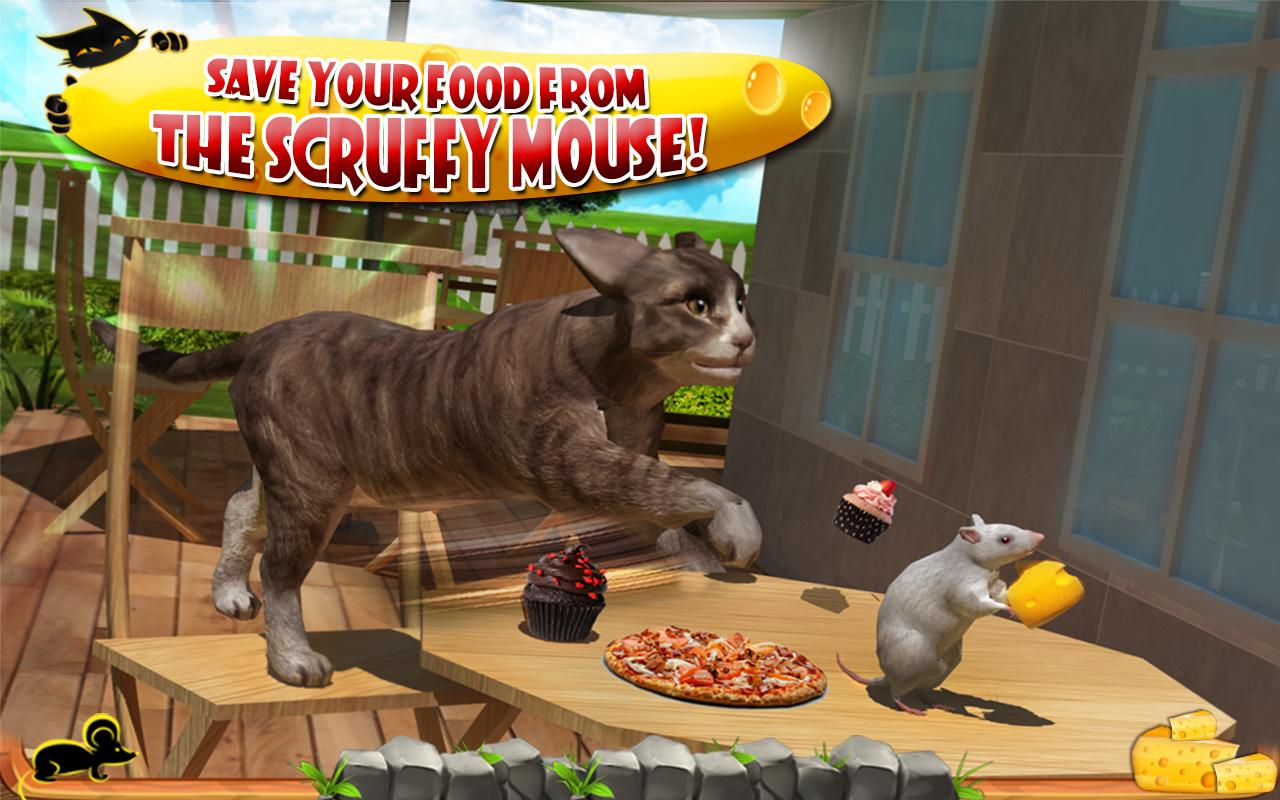 crazy cat vs mouse 3d android apps on google play