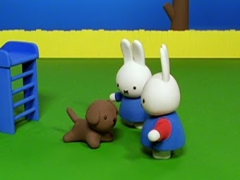 Miffy and Snuffy at the Playground/Miffy and the Hungry Bird