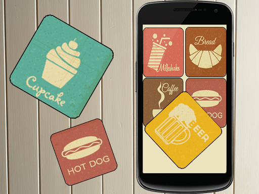 Food Memory Game For Kids 2015