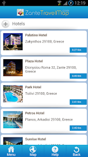 Zante Travel Map- screenshot thumbnail