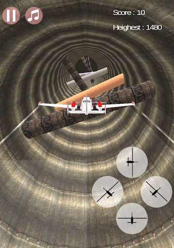 Ace Of The Tunnel - Plane Game