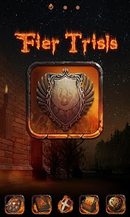 Fire Trials GO Launcher Theme - screenshot thumbnail