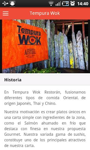 Tempura Wok App
