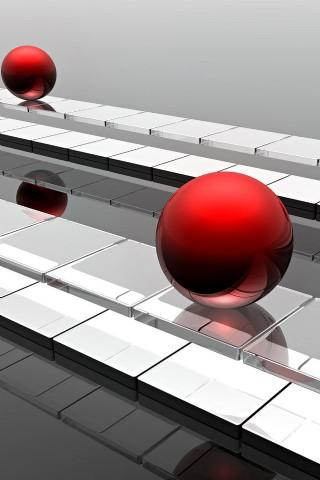 3D Color Splash Background - screenshot