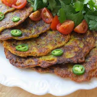 Vegetable Pancakes Indian Recipes.