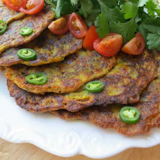 Vegetable Pancakes Indian Recipes.