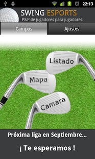 swing golf, campos y asistente- screenshot thumbnail