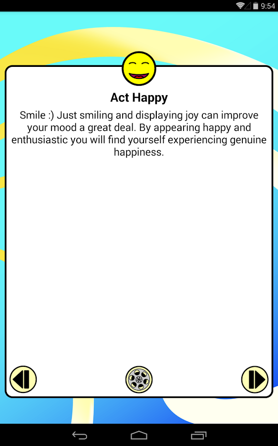 Be Happy! Pro: Happiness tips- screenshot