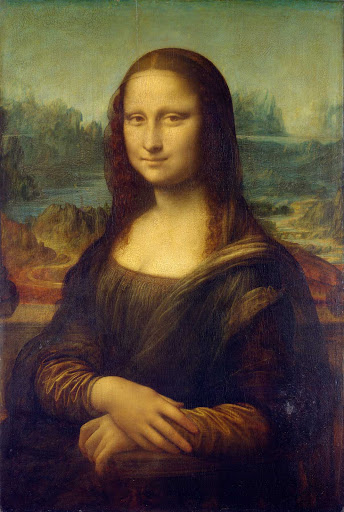"Mona-Lisa-Leonardo-da-Vinci-Paris - ""The Mona Lisa"" (c. 1503-1506), by Leonardo da Vinci at the Louvre in Paris, natch."