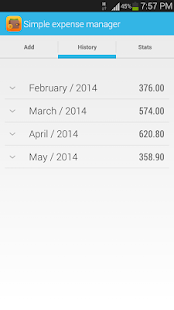 Simple Expense Manager screenshot