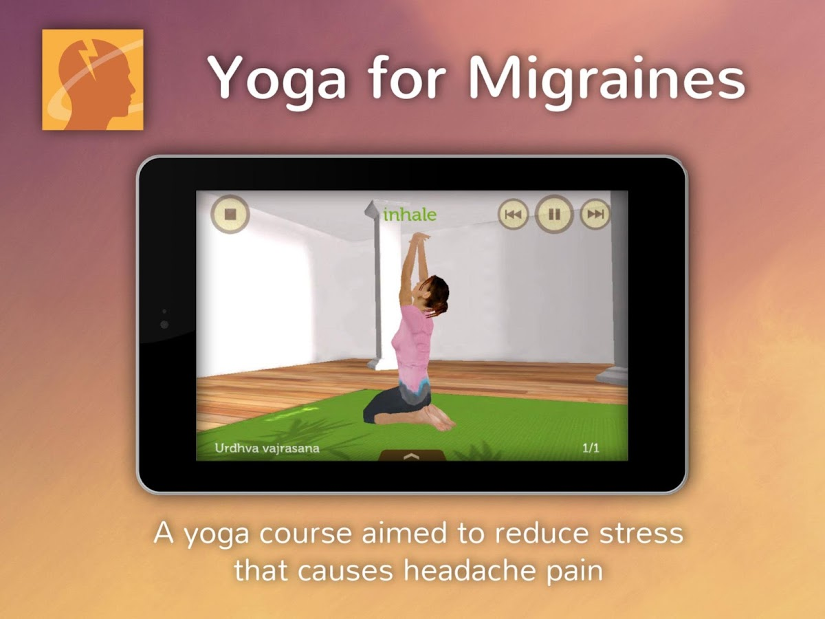 Yoga for Migraines- screenshot