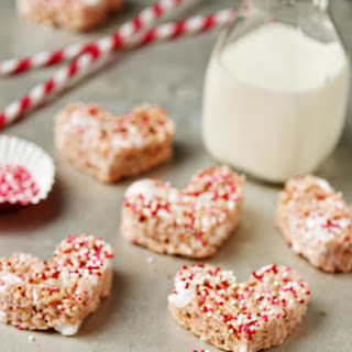 Strawberry Rice Krispie Treats.