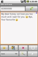 Screenshot of SMS Creator