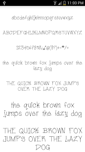 Fonts for FlipFont #14- screenshot thumbnail