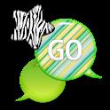 GO SMS - Zebra Star Skies 9 icon
