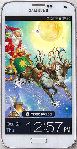 New Year Deer Live Wallpaper