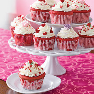 how to make red velvet cupcakes without buttermilk