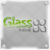 GO Launcher Glass theme