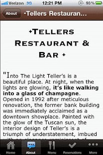 Tellers Restaurant & Bar - screenshot thumbnail