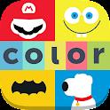 Colormania - Colorea el Logo icon