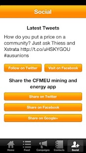 CFMEU Mining and Energy- screenshot thumbnail