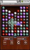 Screenshot of Bubble Breaker Classic