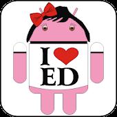 Droid I Love Ed doo-dad