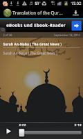 Screenshot of Quran Greek MP3 Translation