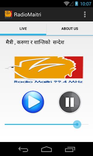 Radio Maitri 99.4 MHz