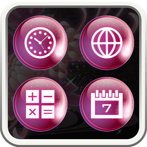 moonlight butterfly Icon 個人化 App LOGO-硬是要APP