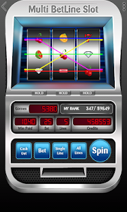Slot Machine - Multi BetLine- screenshot thumbnail