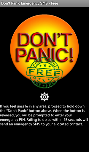 Don't Panic Emergency SMS Free