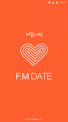 F.M 데이트 소개팅 채팅 데이트 내친소