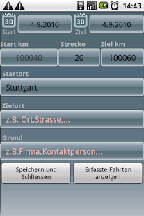Fahrtenbuch For Android - screenshot thumbnail